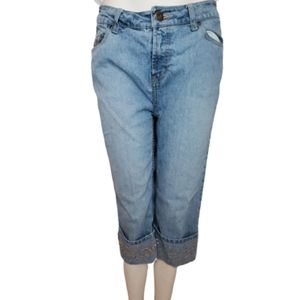 Faded Glory Capris Jeans